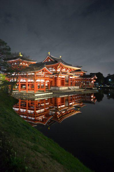 京都・平等院ライトアップ