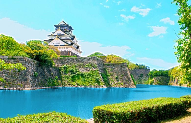 大阪城画像レタッチ